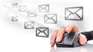 専用のメールアドレスを使える