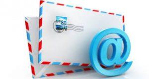 メールアドレスにおけるドメイン名